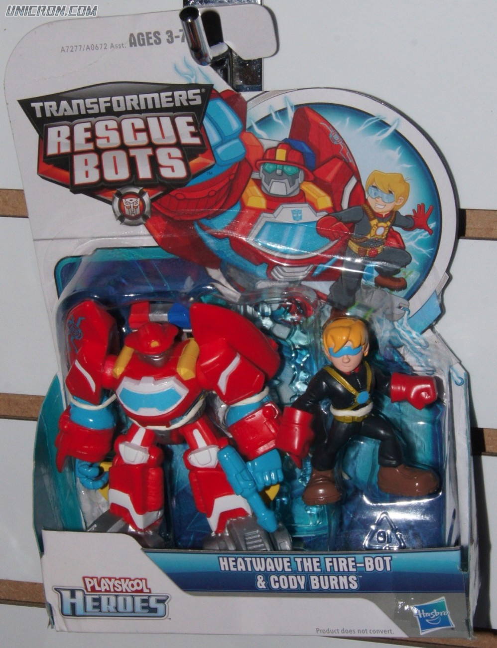 Transformers Rescue Bots Heatwave and Cody Burns (Rescue Bots 2-Pack) toy