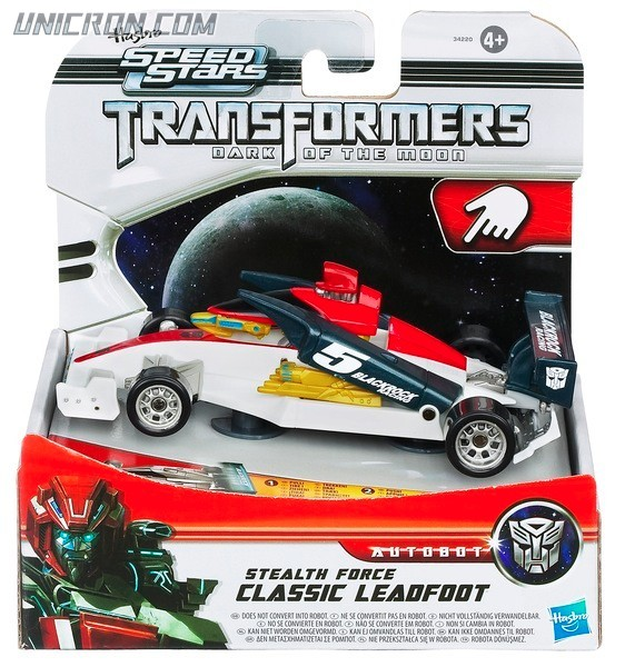 Transformers RPMs/Speed Stars Stealth Force Leadfoot toy