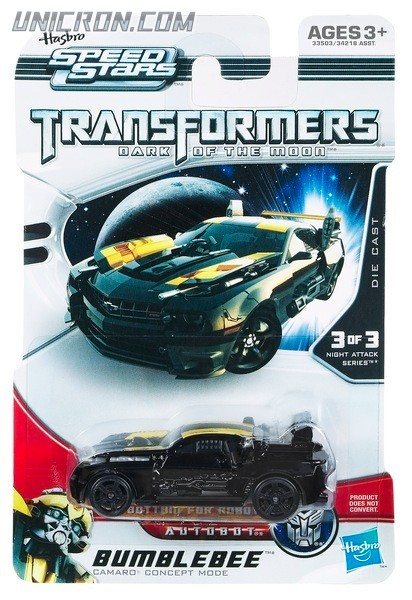 Transformers RPMs/Speed Stars Bumblebee (black Speed Stars) toy