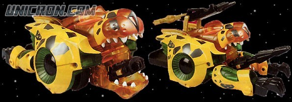 Transformers Beast Machines Che toy