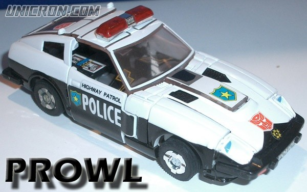 Transformers Generation 1 Prowl toy