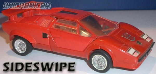 Transformers Generation 1 Sideswipe toy