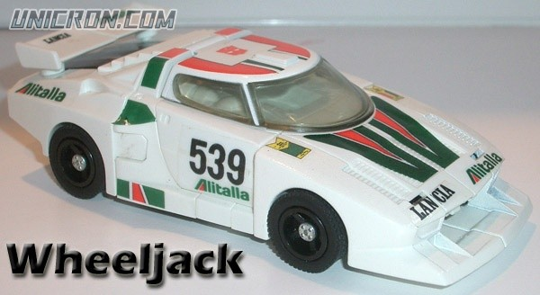 Transformers Generation 1 Wheeljack toy